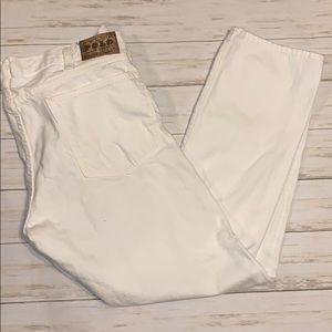 Polo White Jeans Size 49 x 30